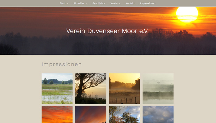 Sandesnben Webdesign